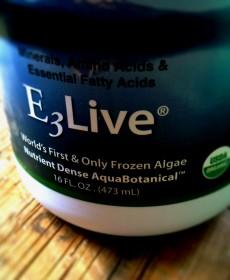 e3live aquabotanical blue green algae