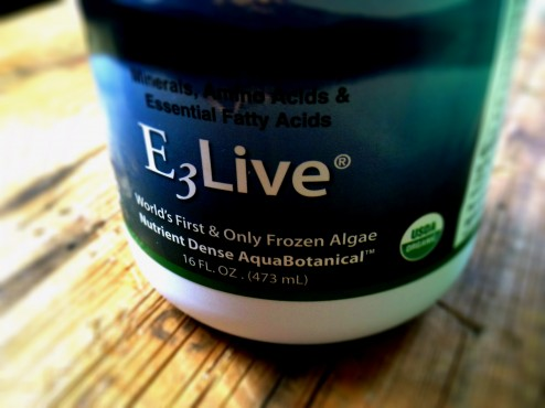 e3live aquabotanical blue green algae