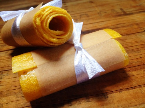 raw vegan mango pineapple fruit paper