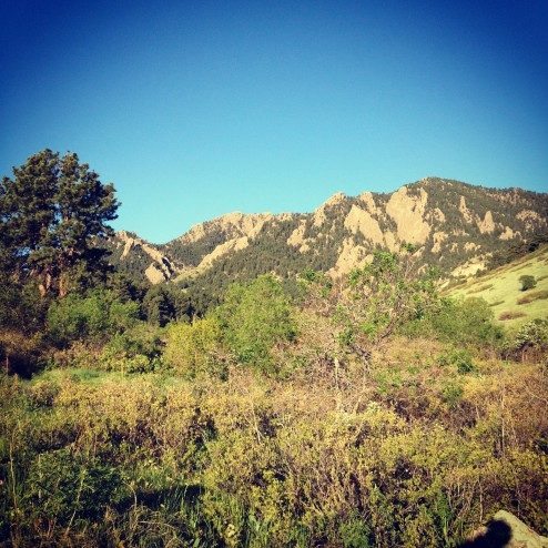 great morning run #inphyusion30 #bouldercolorado