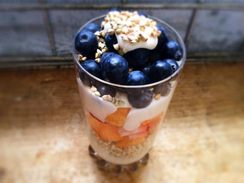dairy-free coconut yogurt parfait